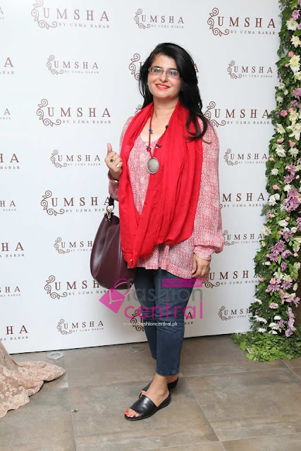UMSHA By Uzma Babar Trunk Show