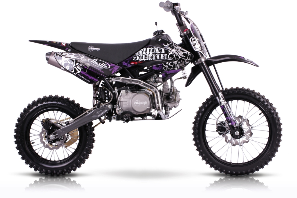 Super Stomp Z140 Big Wheel Pit Bike Motorbike For Sale