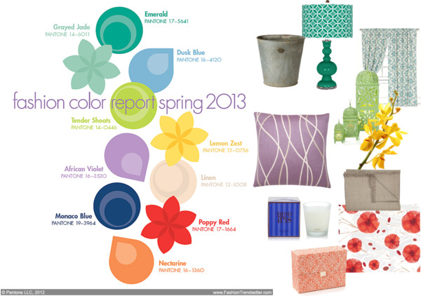 home decor color trends 2013 color trends for spring 2013 spring
