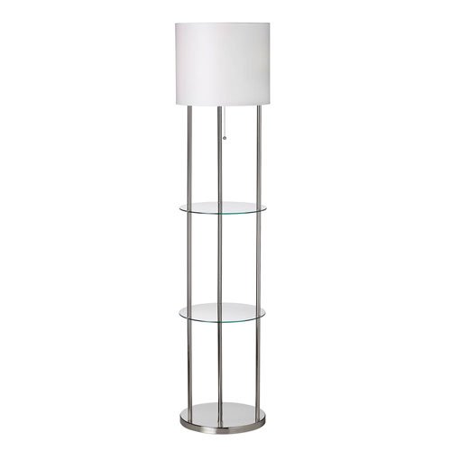 Total fab modern and contemporary floor lamps with shelves Floor lamp with shelves
