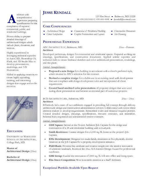 Architecture Resume1