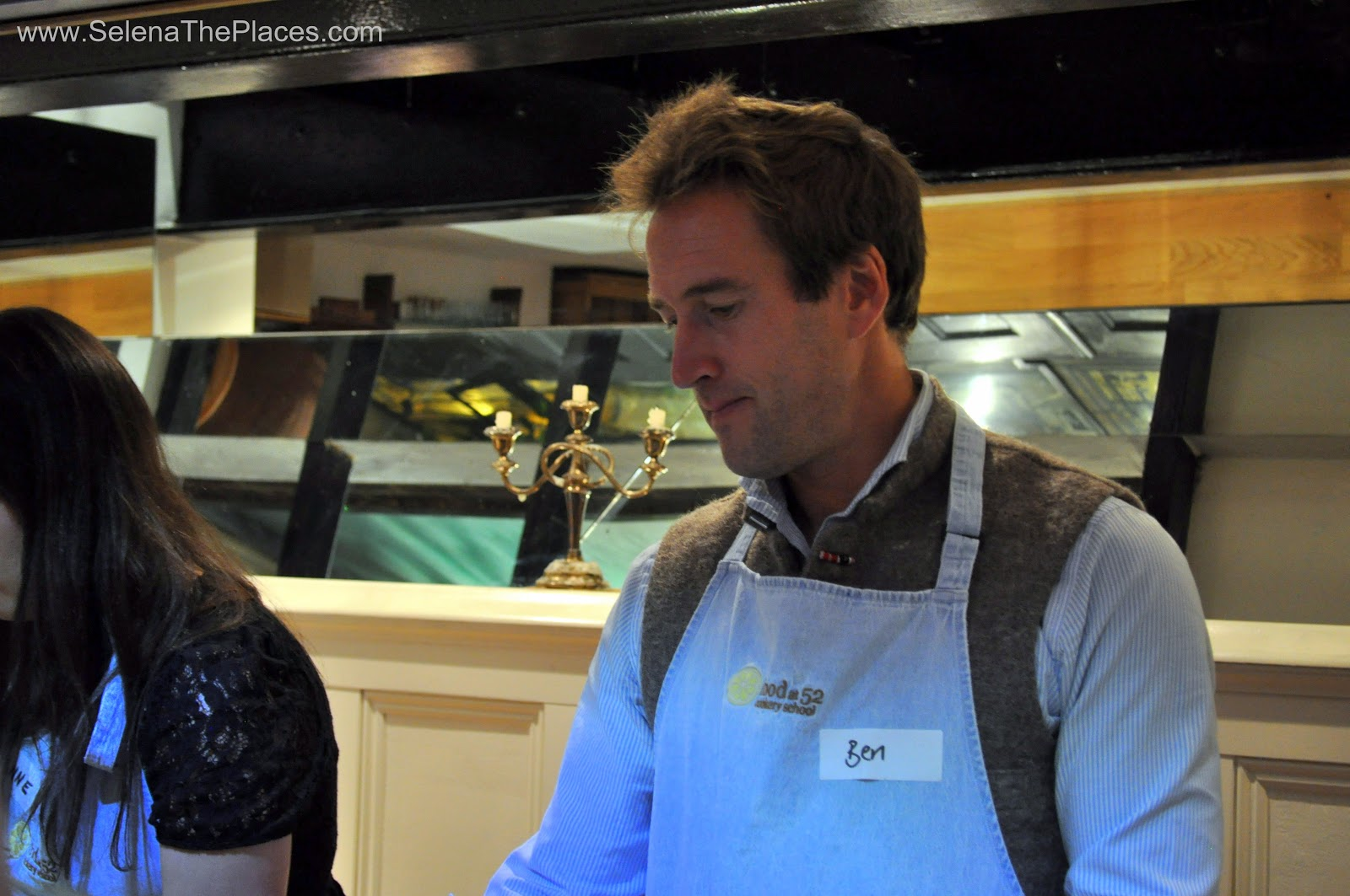 Ben Fogle and Celebrity Cruises at Food @ 52 in London