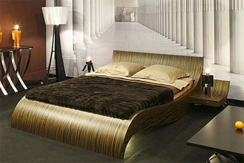 Modern Bed Designs Best Let There Be Light Bed Design With Modern