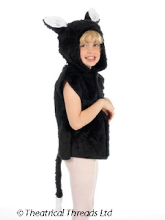 Cat One Size Tabard Kids Costume from Theatrical Threads Ltd