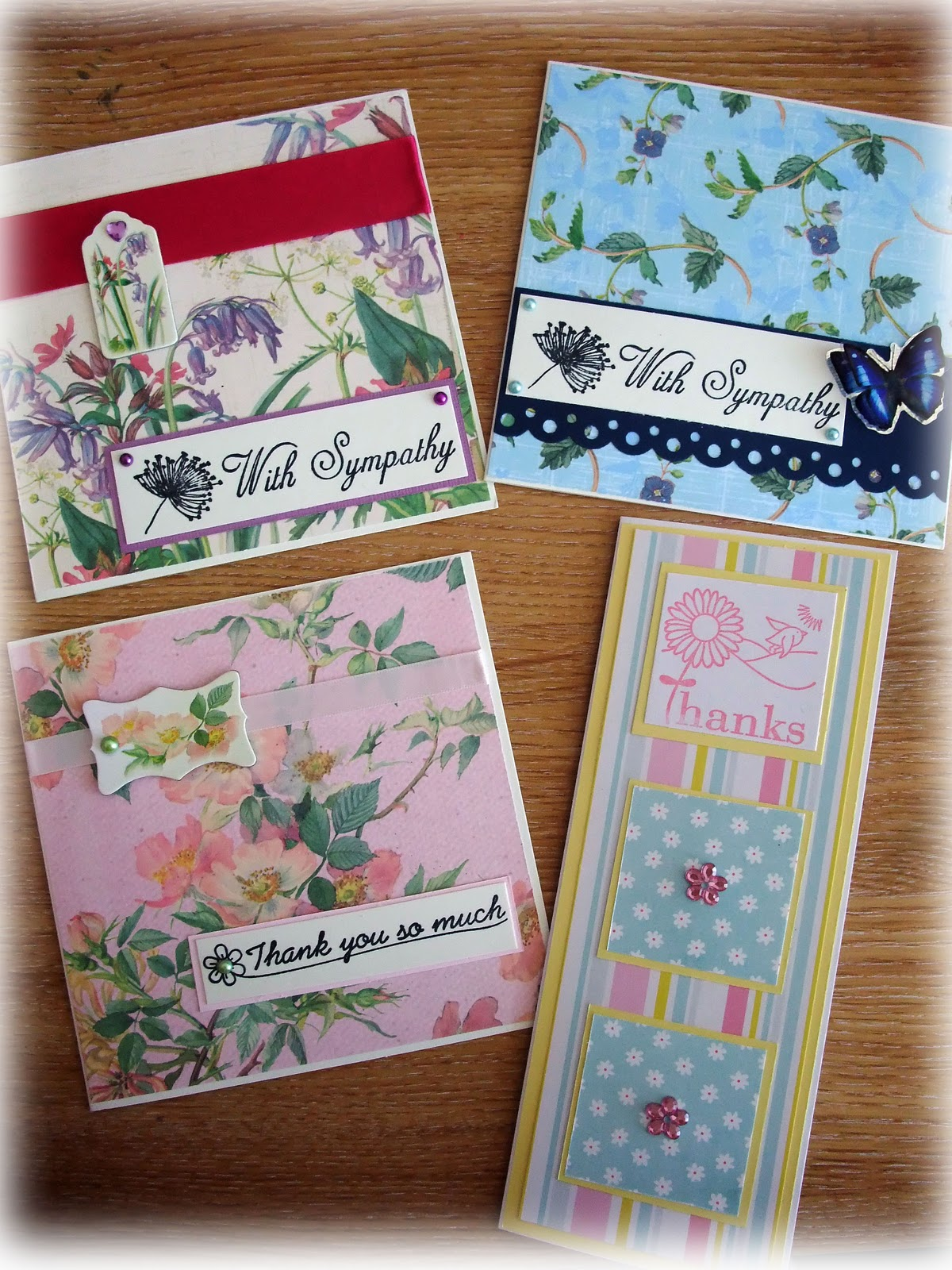 Twinkle twit crafts a few more quick and easy charity cards for Crafts to donate to charity