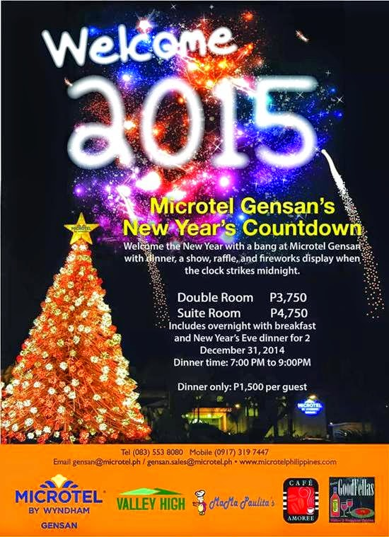 Microtel Gensan's New Year Countdown