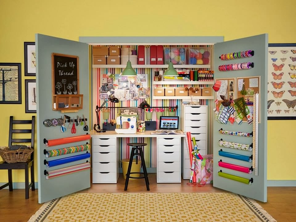 IKEA Share Space Craft Closet