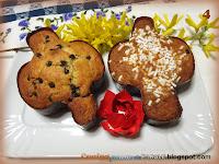 Colombine con gocce di cioccolato