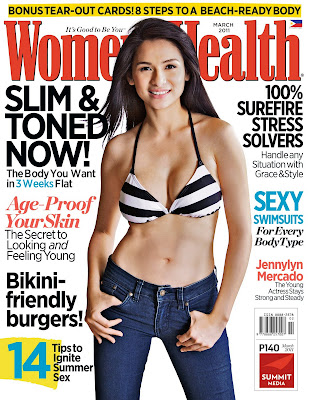 Jennylyn Mercado Women's Health Philippines March 2011