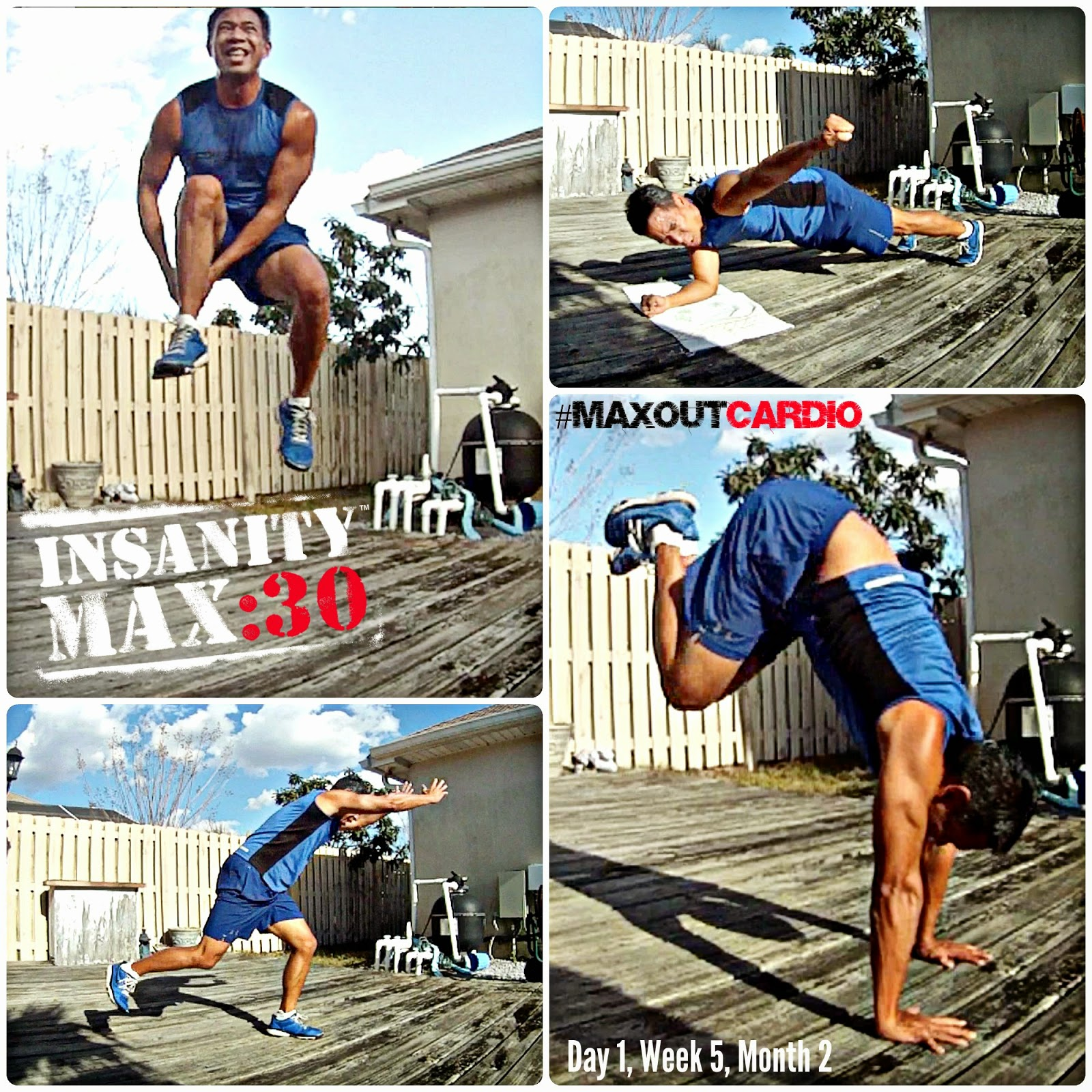 Insanity Max 30 - Max Out Cardio Workout - Insanity Max 30 Workout Sheets