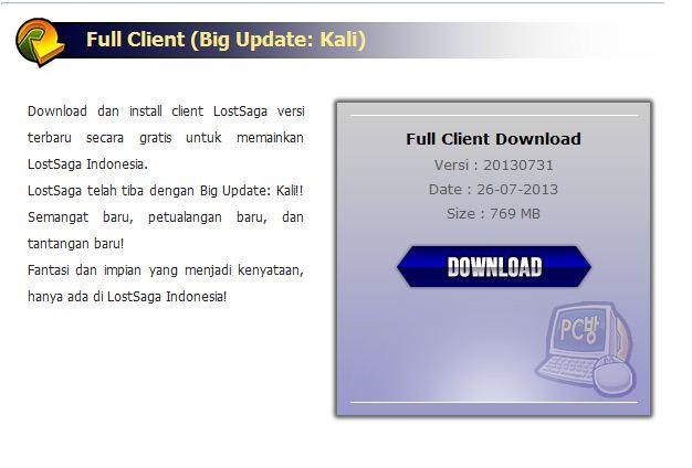 Download Patch Lost Saga Season 4 Indonesia Terbaru ~ Akbar Dwi
