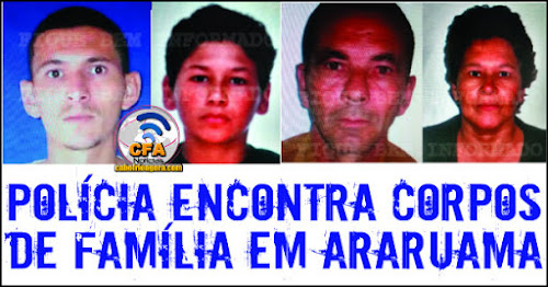 Família inteira é executada em Araruama.