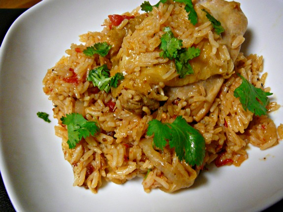 Mostly Food and Crafts: Chipotle Chicken and Rice