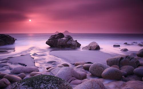 Porth Nanven (Hermosa playa paradisiaca)
