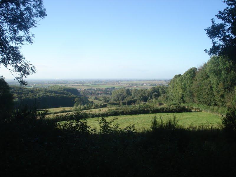 panorama boven op de Catsberg