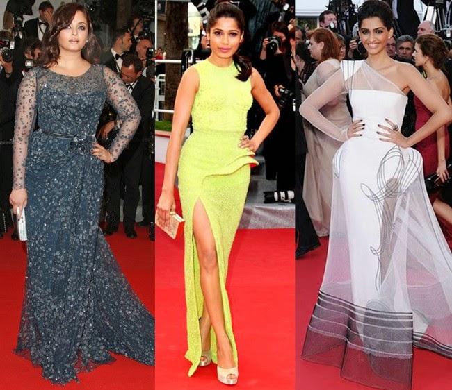 L'oreal Paris, Aishwarya Rai Bachchan, Freida Pinto, Sonam Kapoor, Sonam Kapoor L'Oreal Paris, Katrina Kaif, Bollywood, E Report, Celebrity Style, Style Strip,