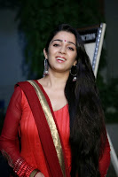 Actress Charmi Kaur Pictures in Red Salwar Kameez at Country Club Asia's Biggest New Year Bash 2014 Press Meet 0005.jpg