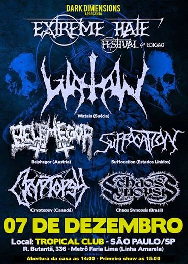 Extreme Hate festival 2014