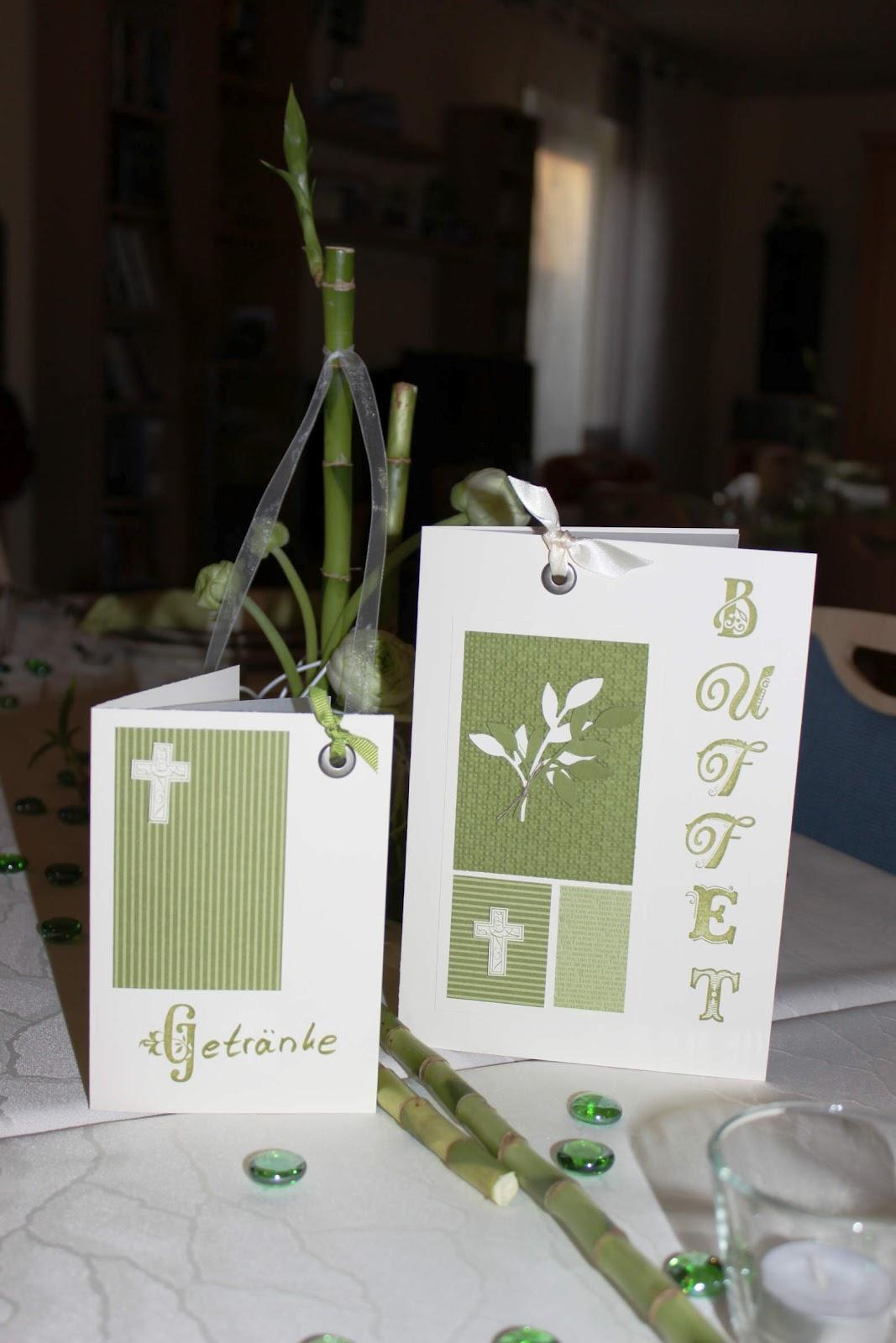 Tischdeko konfirmation 2012  Lieblingsstempel°°° kreativ mit Stempel und Papier und Stampin´Up ...