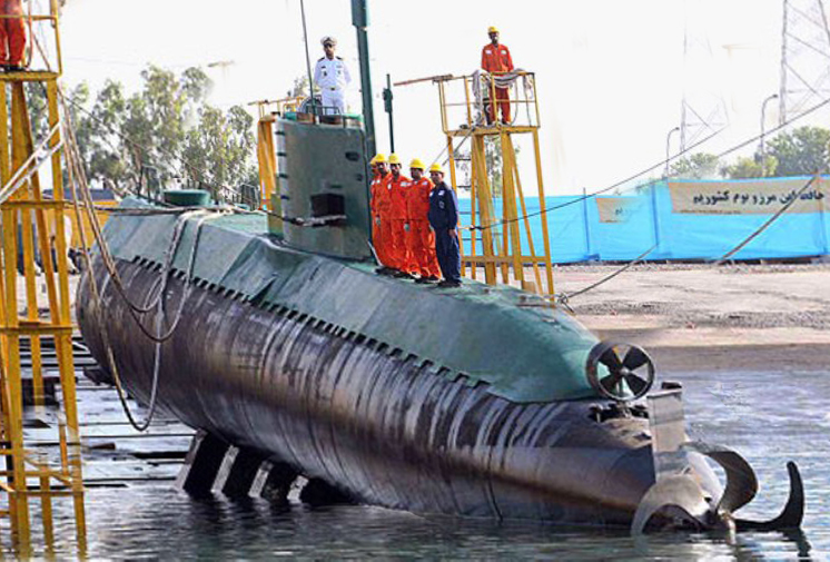 Iranian Fateh Class Diesel Electric Submarine Global
