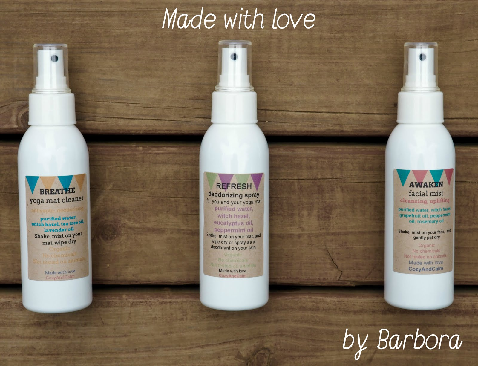 Refresh with natural mists