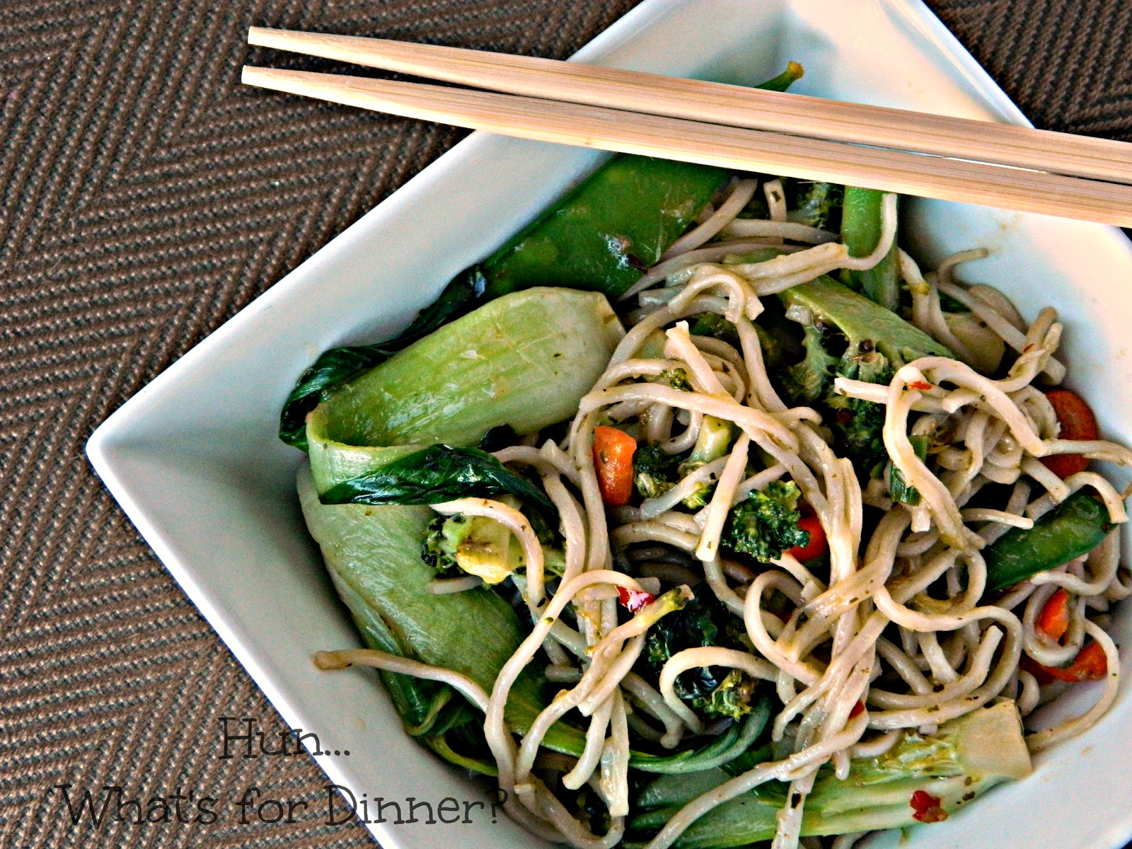 Hun... What's for Dinner?| Chilli Coconut Veggie Stir Fry- East Made Easy #bluedragonmom