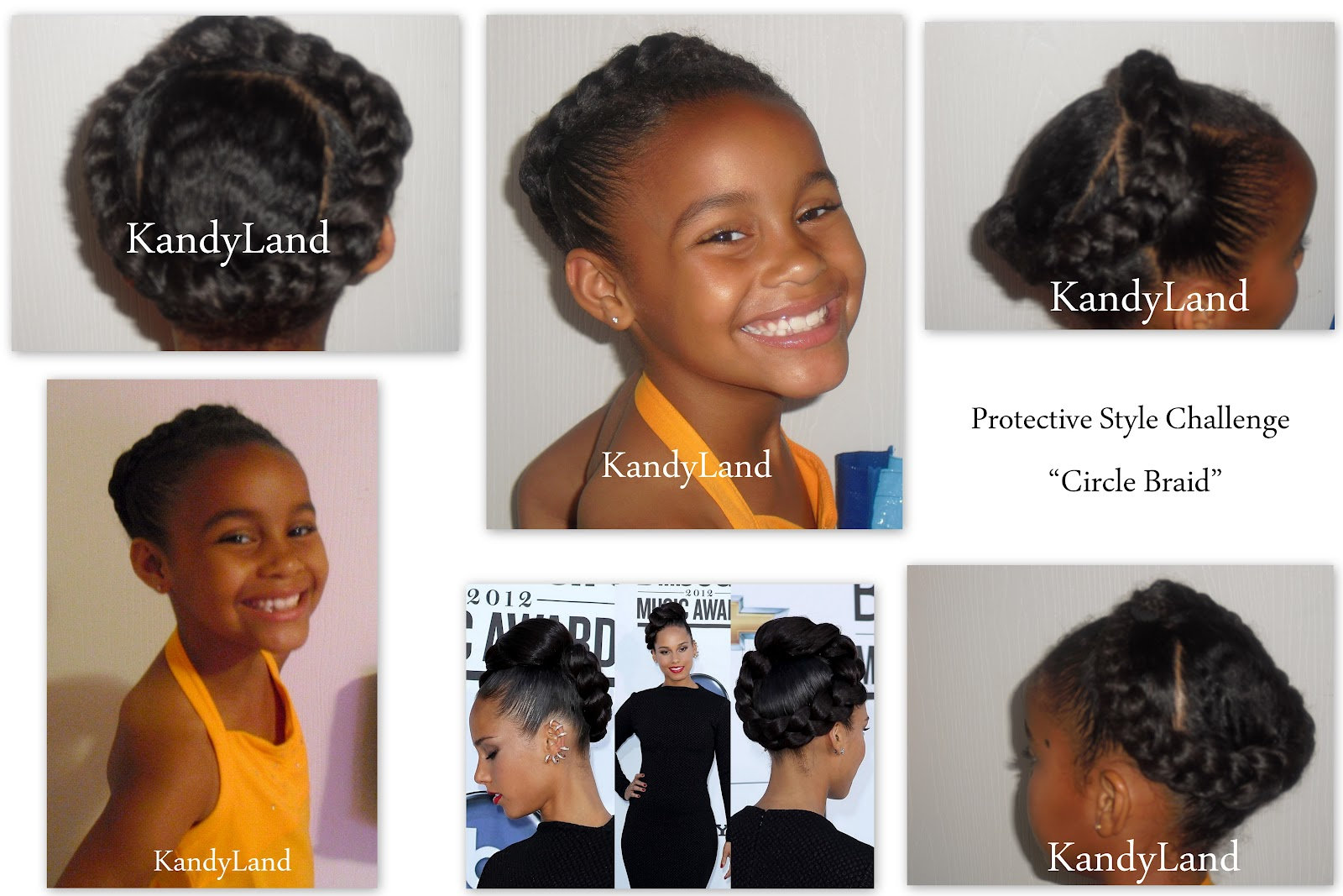 Kandyland celebrity look a like style circle braid celebrity look a like style circle braid ccuart Gallery