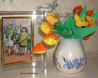 Поделка тюльпаны из яичного лотка своими руками