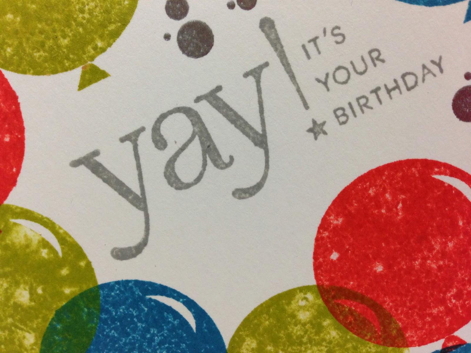 Cupcakes Cards and Kim Surprise Happy Birthday Maria