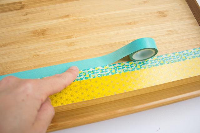 Washi tape craft idea