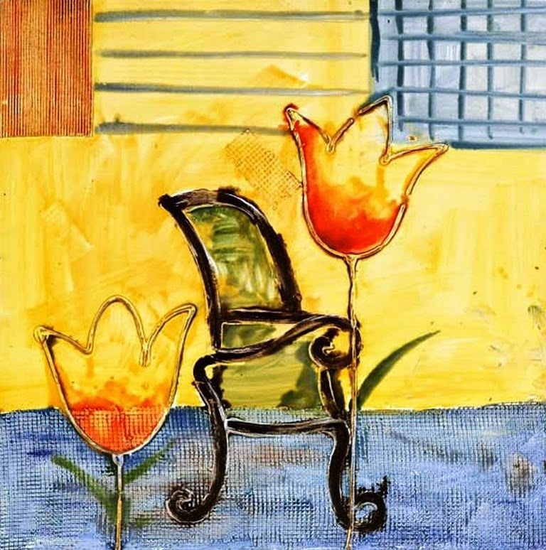 bodegones-abstractos-de-flores-pintados-al-oleo