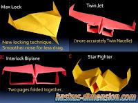 Model Pesawat Kertas