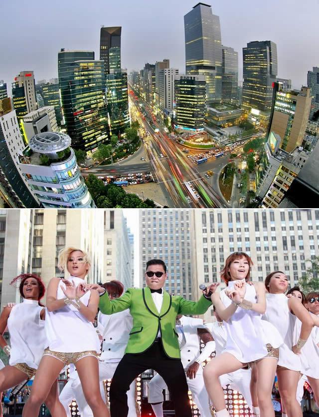 Cidade - City Gangnam  - Koréia do Sul - PSY
