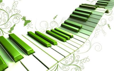 Green Piano Wallpapers
