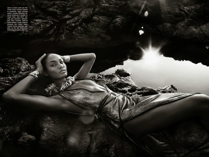 Joan Smalls By Solve Sundsbo For Vogue Italia May 2014