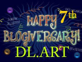 Diana Larson's 7th Blogiversary