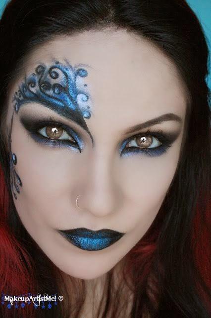 maquilhagem e mascaras para o Carnaval
