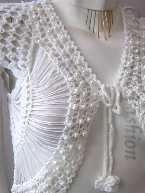 Bayan yazlık örgü modası tığ işi örgüler:
