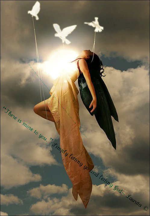 angel flying up to heaven - photo #11