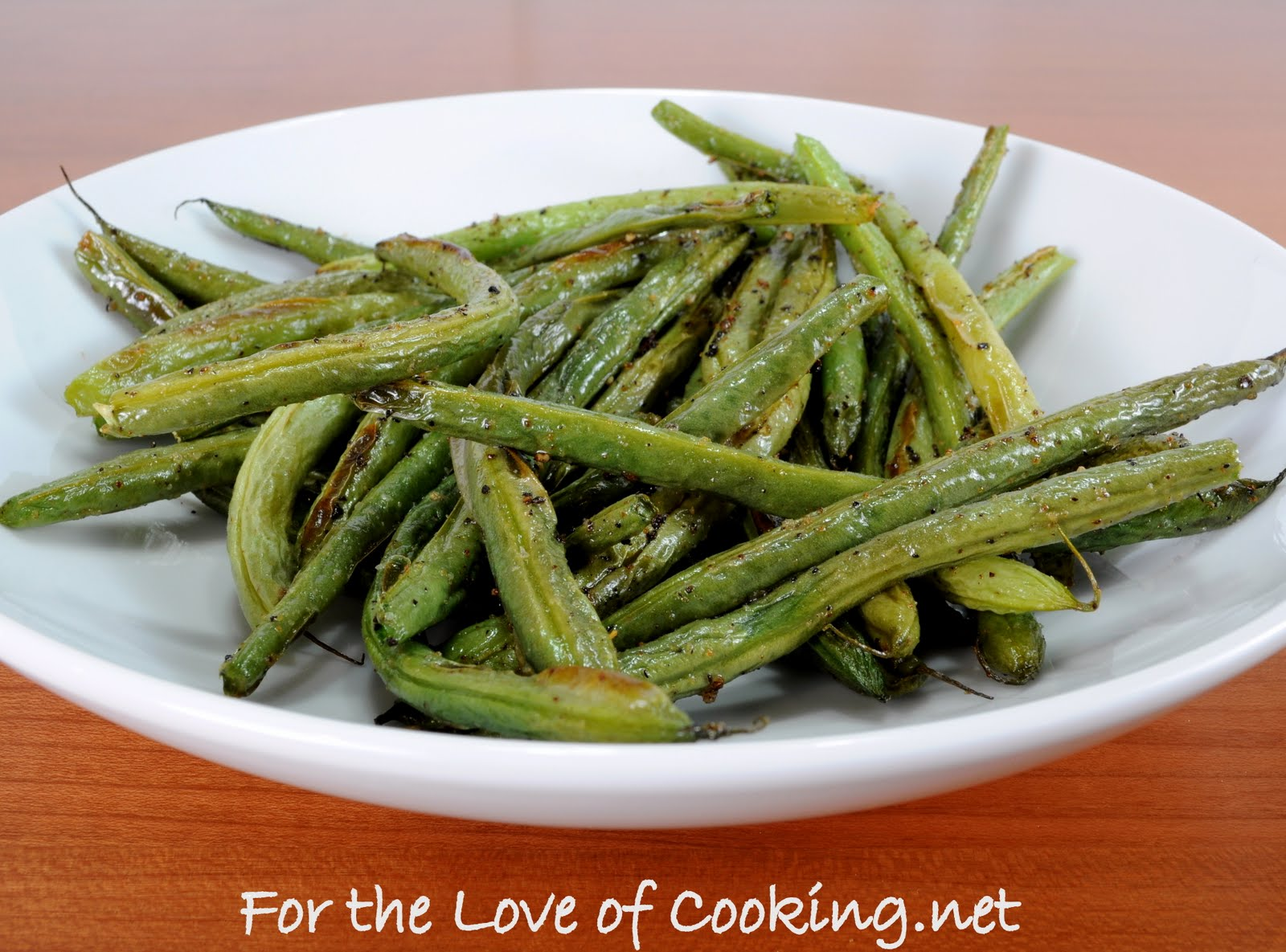 For the Love of Cooking: Roasted Green Beans