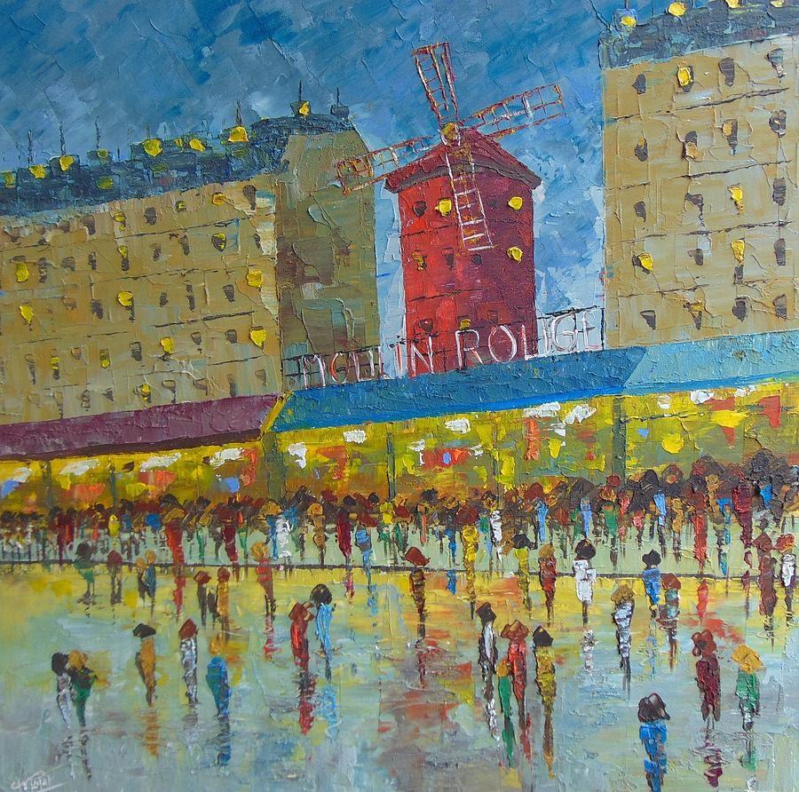 Frederic Payet Le moulin rouge Paris_