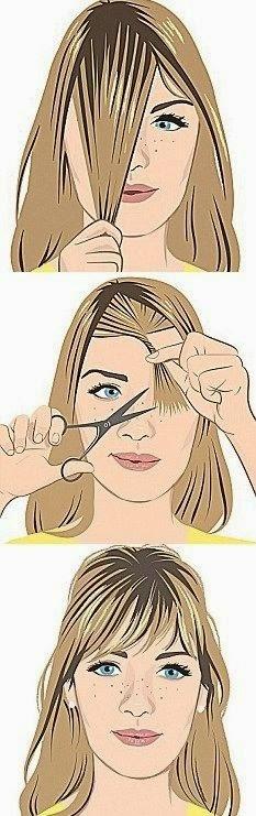 Como fazer um corte de cabelo com franja - verão 2015