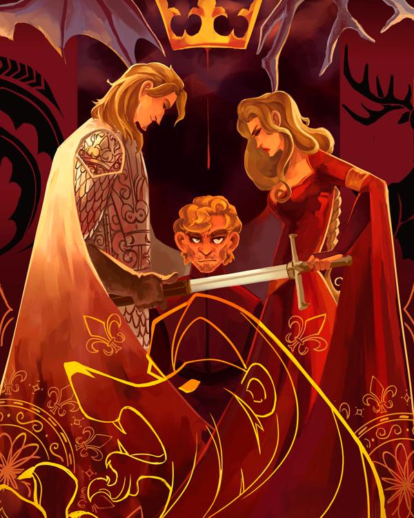 cersei lannister, house lannister, verão de 96, fanart got