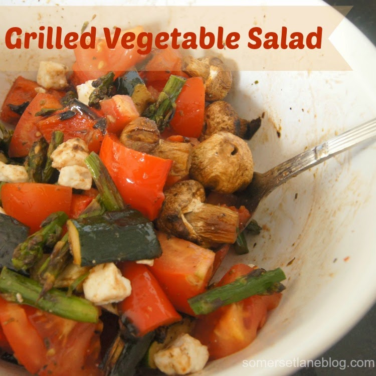 Grilled Vegetable Salad Recipe — Dishmaps