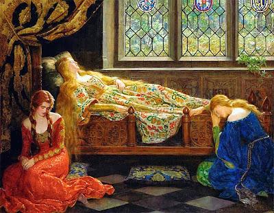 John Collier La bella addormentata