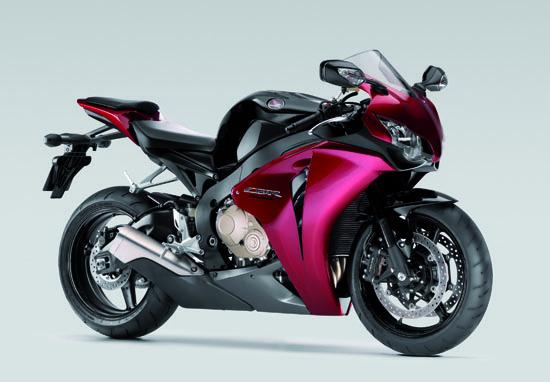Honda Fireblade bike