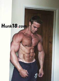 Hot Male Fitness Hunk Model Adam Charlton