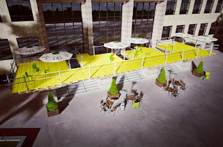 Modulo Construido con Palets Reciclados, Diseño, Arte y Ecoresponsabilidad