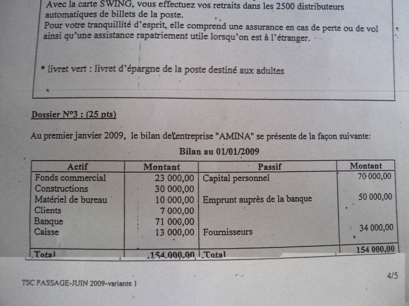 Examen de passage 2009 Pratique variante 1 TSC PICT0037