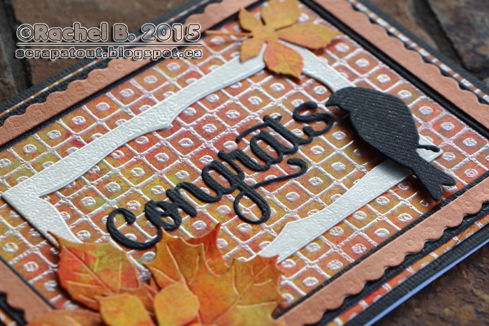 Impression Obsession Card, Autumn, Leaves